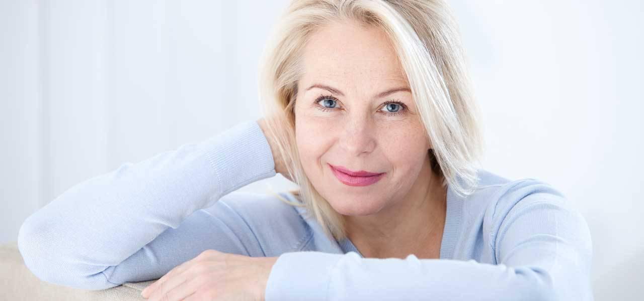 εμμηνόπαυση, δηλαδή η οριστική διακοπή της περιόδου